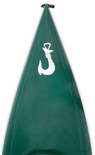 maori bone fish hook Kanuyak Decals and Stickers for Canoes, Kayaks, cars and trucks