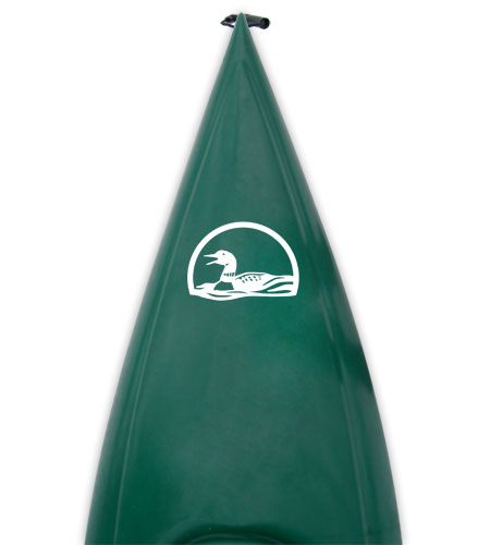 Kayak or canoe decal set graphic calling loon Kanuyak Decals and Stickers for Canoes, Kayaks, cars and trucks