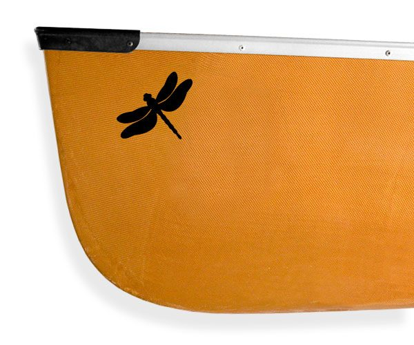 Dragonfly Odonata Kanuyak Decals and Stickers for Canoes, Kayaks, cars and trucks