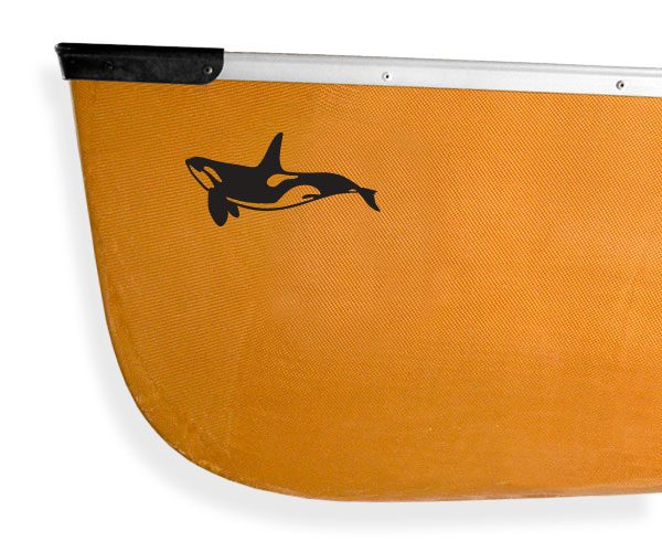 Orca Killer Whale Kanuyak Decals and Stickers for Canoes, Kayaks, cars and trucks
