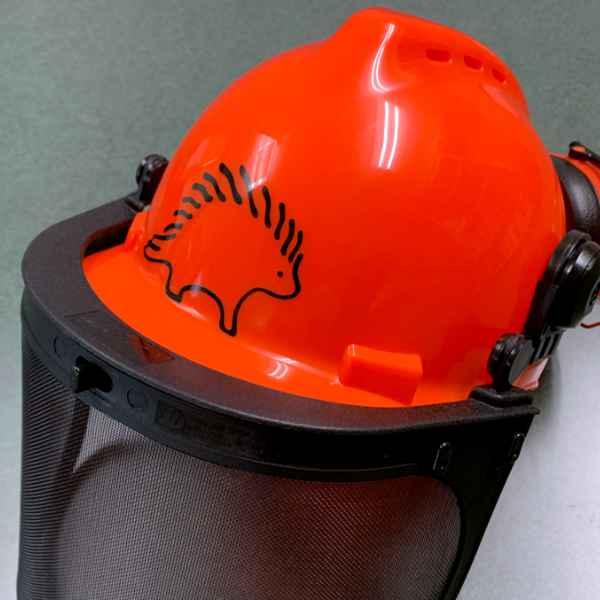 ct123 3 inch porcupine on safety helmet