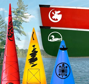 Kanuyak Decals and Stickers for Canoes, Kayaks, cars and trucks