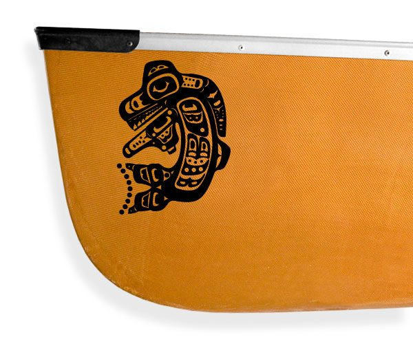 Tribal orca killer whale Kanuyak Decals and Stickers for Canoes, Kayaks, cars and trucks