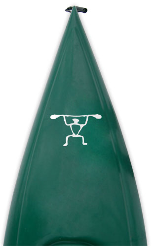 Tribal Petroglyph kayak paddler Kanuyak Decals and Stickers for Canoes, Kayaks, cars and trucks